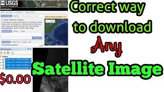 Download High Resolution Satellite Images USGS  2017 (Updated)