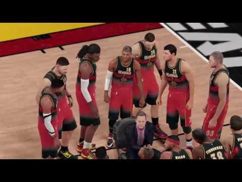 PS4: NBA2K16 - (Fictional Game) Atlanta Hawks Vs Miami Heat