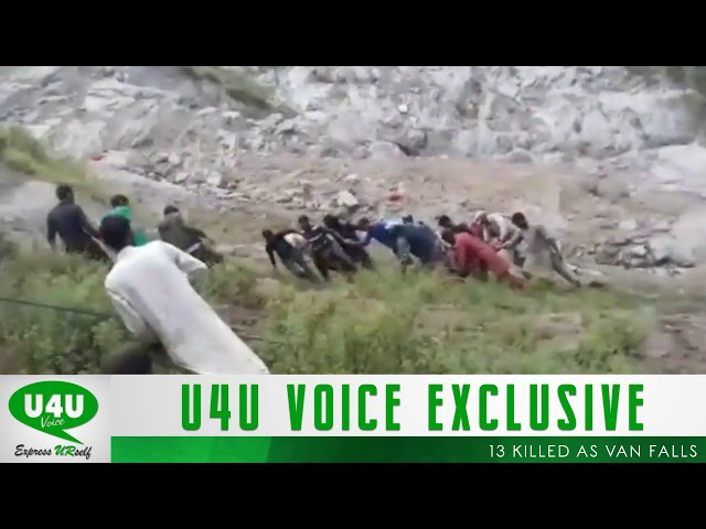 13 killed as van falls into chenab river in Kishtwar