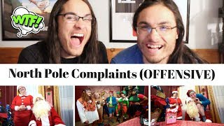 North Pole Complaints (OFFENSIVE) - Brandon Rogers I Our Reaction // Twin World