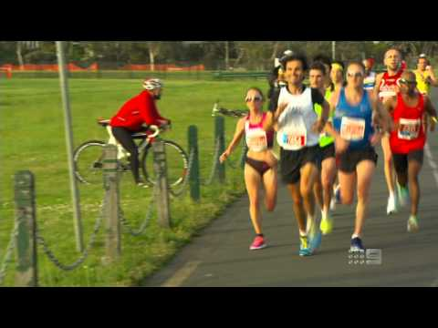 2013 Melbourne Marathon TV Highlights