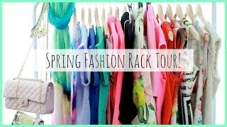 Spring Fashion Rack Tour! ♥ MakeupMAYhem Day 7 Thumbnail