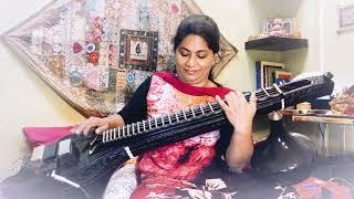 Kannamma Kannamma veena cover by Sijitha Rajesh ,Film Rekka