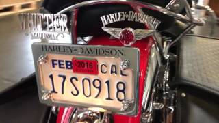 Harley Davidson FLSTS Heritage Springer Full Custom Build (at the shipping warehouse)