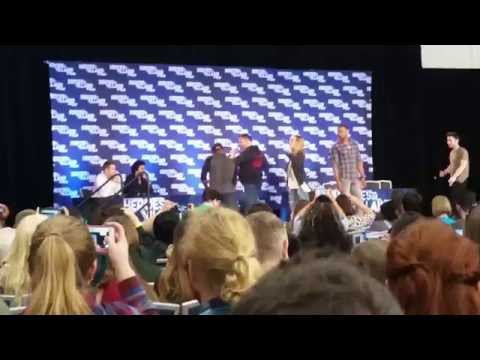Stunt Coordinator Panel @ Heroes and Villains FanF
