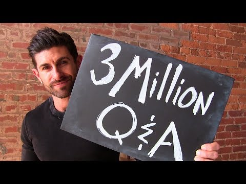3 MILLION Sub Q&A! Suicidal Thoughts, Vegans, Music, Bodybuilding & More CRAZY Viewer Questions!