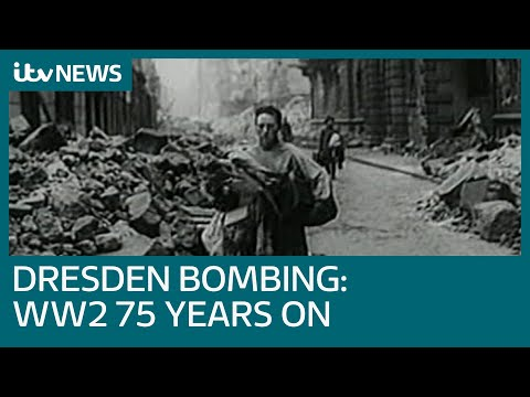 Dresden: World War Two bombing 75 years on | ITV News