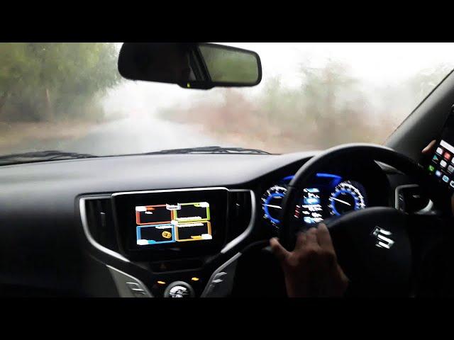 Tuta Huaa 😚 Baleno Rainy Drive Status 😎 Status 😎 Strong Attitude 😀