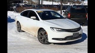 2016 Chrysler 200 S | Dual Sunroofs + Alpine Sound System | Edmonton AB | 19GV9232A | Crosstown DCJR