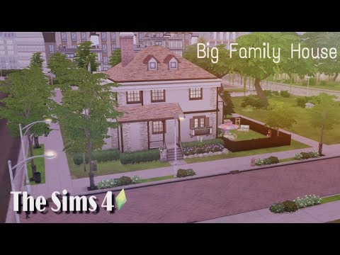 The Sims 4 Parenthood | Big Family House | Speed Build Without CC by #Sims4Life