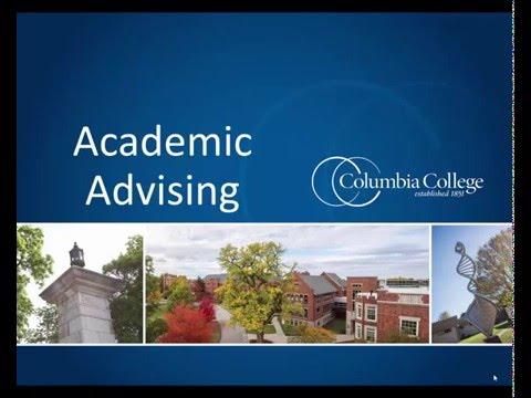 Academic Advising at Columbia College