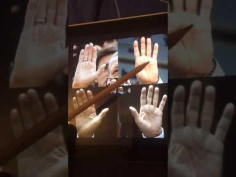 Erdogan palm reading