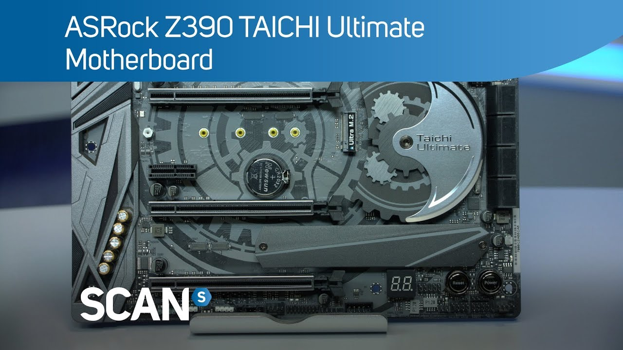 ASRock Z390 TAICHI Ultimate Gaming Motherboard - Product Overview