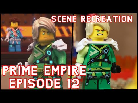 LEGO Ninjago: Season 12 - Episode 12 | Lloyd VS Harumi | SCENE RECREATION!