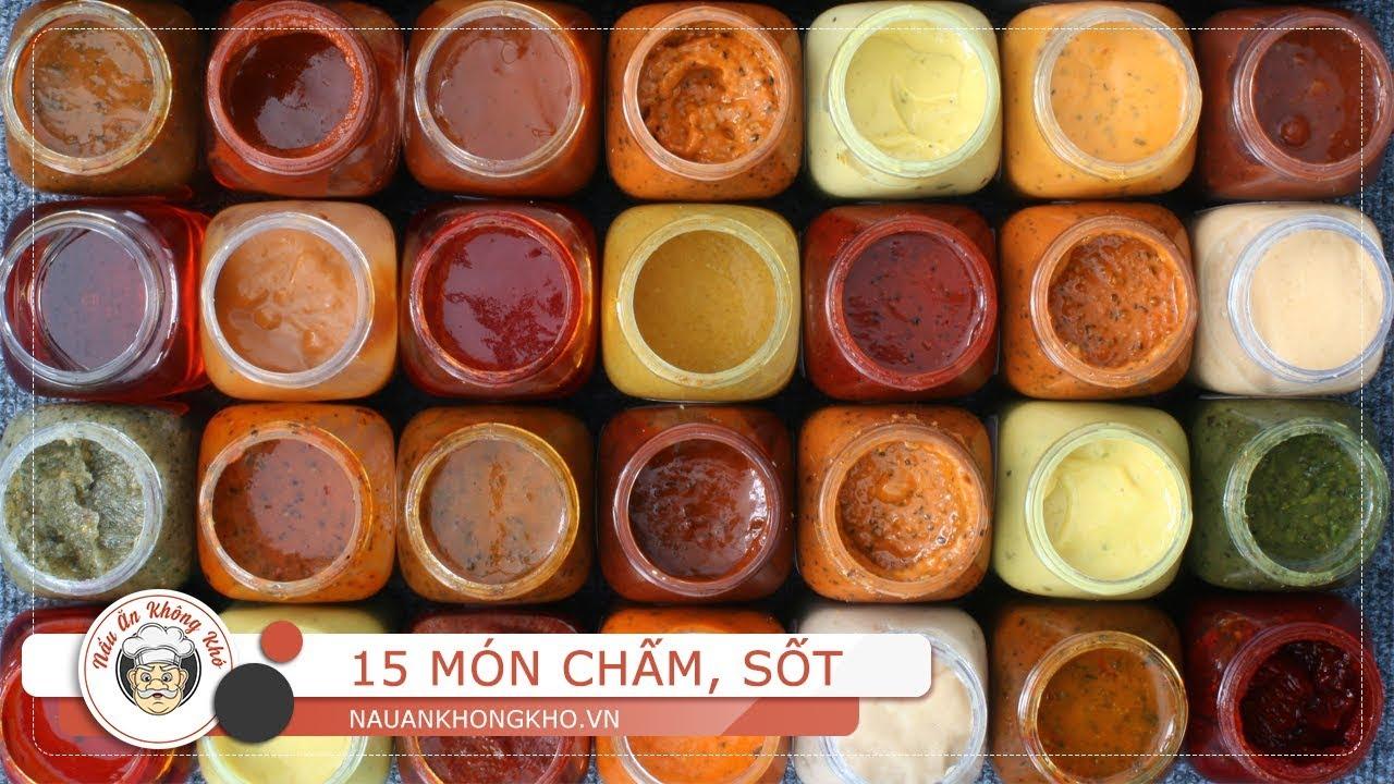 15 cách làm nước chấm, nước sốt tăng hương vị cho món ăn