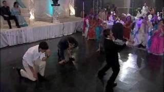 """Tunak Tunak Tun"" Dance AND Best Man Speech at Rima & Steve"