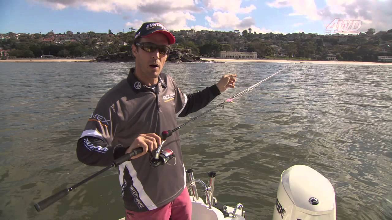 squid fishing tips - youtube, Reel Combo