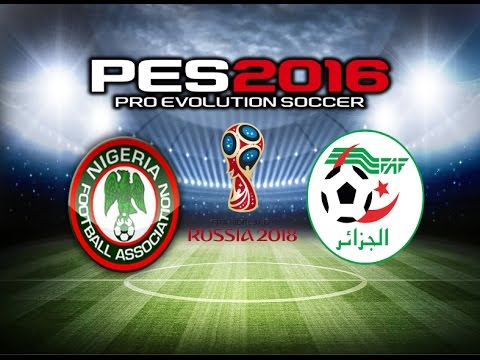 PES 2016 Gameplay Nigeria vs Algeria