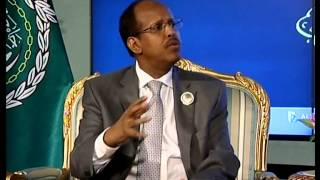 exclusive interview mahamoud ali youssouf djibouti foreign minister during 25th al summit