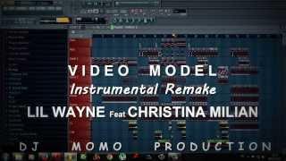 christina milian ft lil wayne video model instrumental remake by dj momo zenati