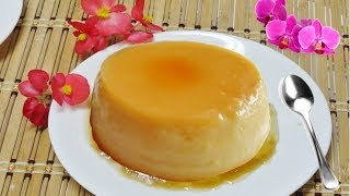 Fast Flan Video Recipe By Bhavna - Homemade Caramel Custard Or Cream Custard