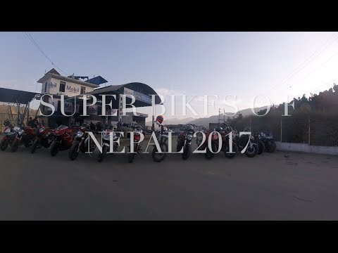 LAST RIDE OF 2017 WITH SUPERBIKES|NEPAL|NEWYEAR2018