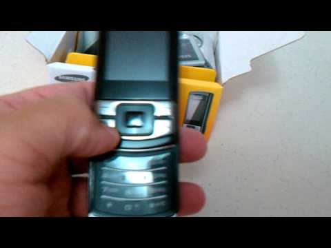 Samsung C3050 Unboxing Video - Phone in Stock at www.welectronics.com