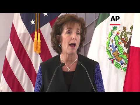 US Breaks Ground On New Embassy In Mexican Capital