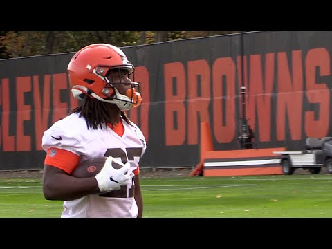 The Sports Feed - Kareem Hunt Returns To Browns Practice