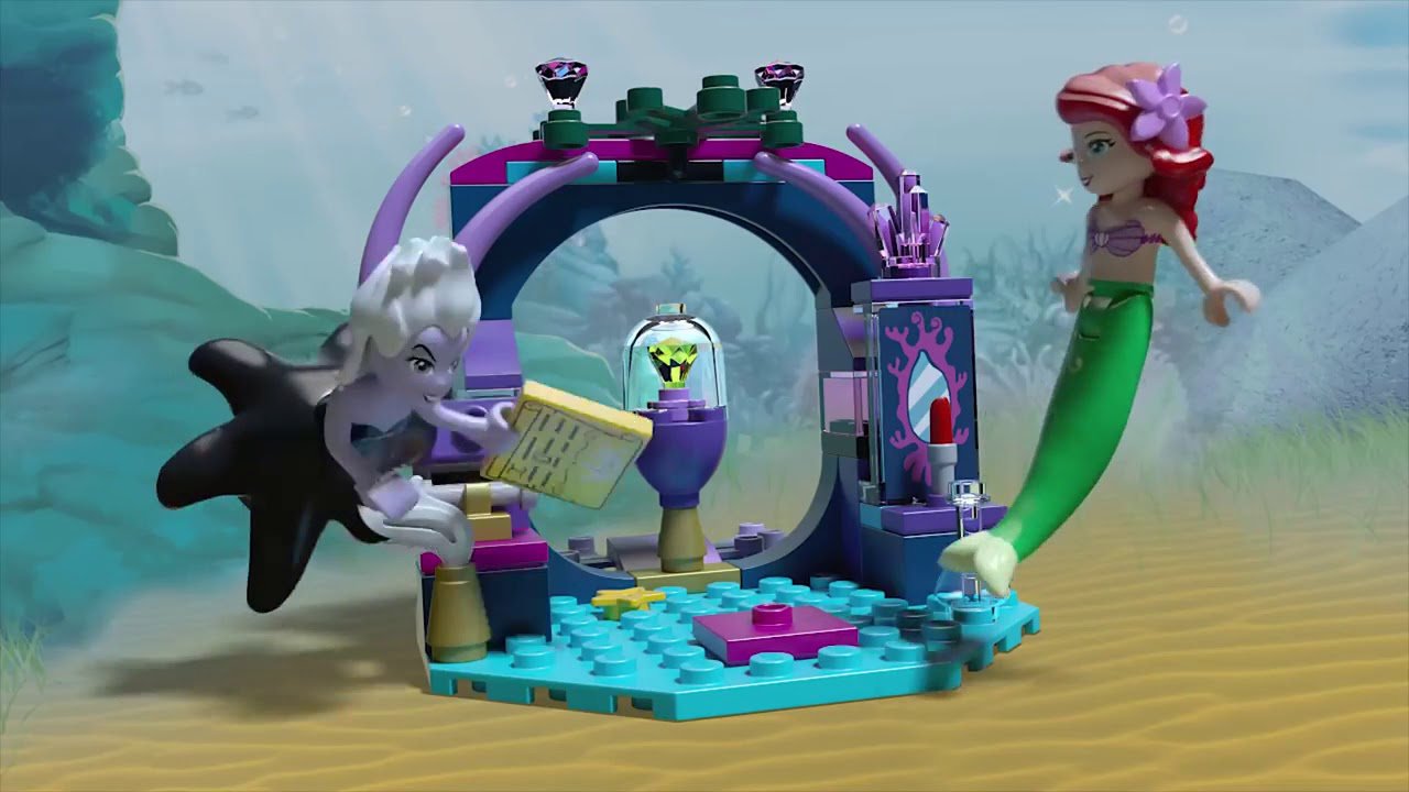 LEGO Disney Ariel The Little Mermaid Ursula Minifigure Mini-Doll 41145