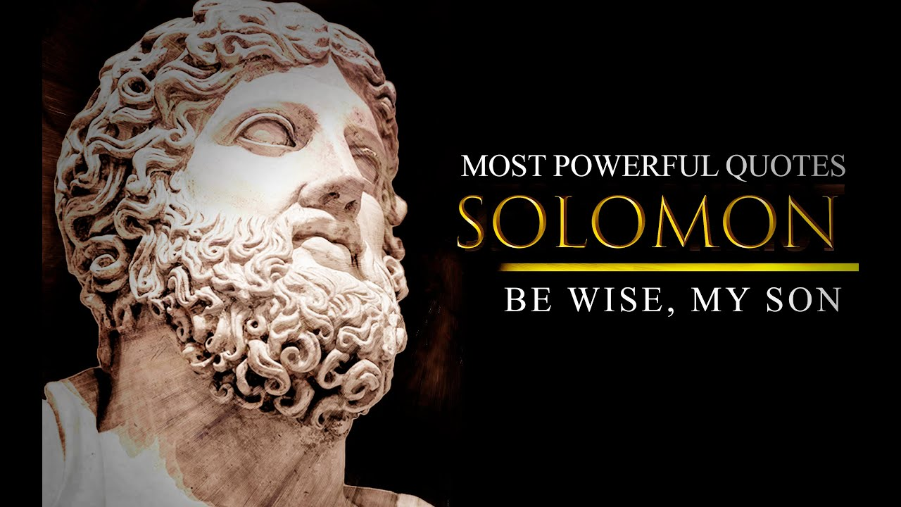 THE SIX THINGS GOD HATES - King Solomon: Powerful Life Changing Quotes