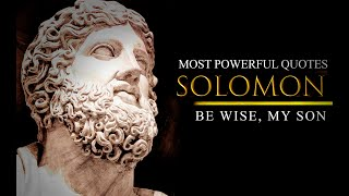 THE SIX THINGS GOD HAṪES - King Solomon: Powerful Life Changing Quotes