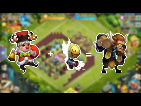 Raiding With Lilnick And His Pet DoomBallon!The New Mino?!Castle Clash