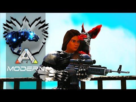 🔴 ARK MODERN T4 EP09   Vamos Ganhar Uma Super Arma Terceira Missão!