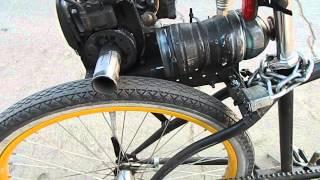 Weed Eater - Direct Drive - Motorized Bike - Beach Cruiser Build