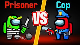 PRISONER vs. COP In AMONG US! (Jail The Impostor)