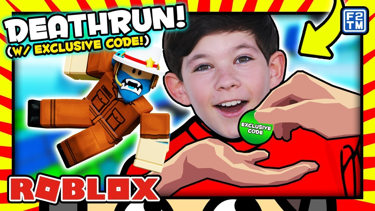 Deathrun Codes Roblox 2019 My Own Trail Exclusive Code For Roblox Deathrun Youtube