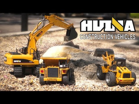 Huina RC Construction Vehicles - Now Available
