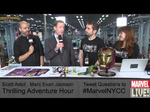 Scott Adsit and Marc Evan Jackson Share a Few Words On Marvel LIVE! at NYCC 2014