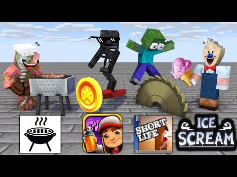 Monster School : SEASON 9 ALL EPISODE - Minecraft Animation