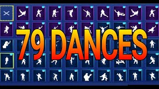 dances of Fortnite | 79 dances and GESTURES 2018