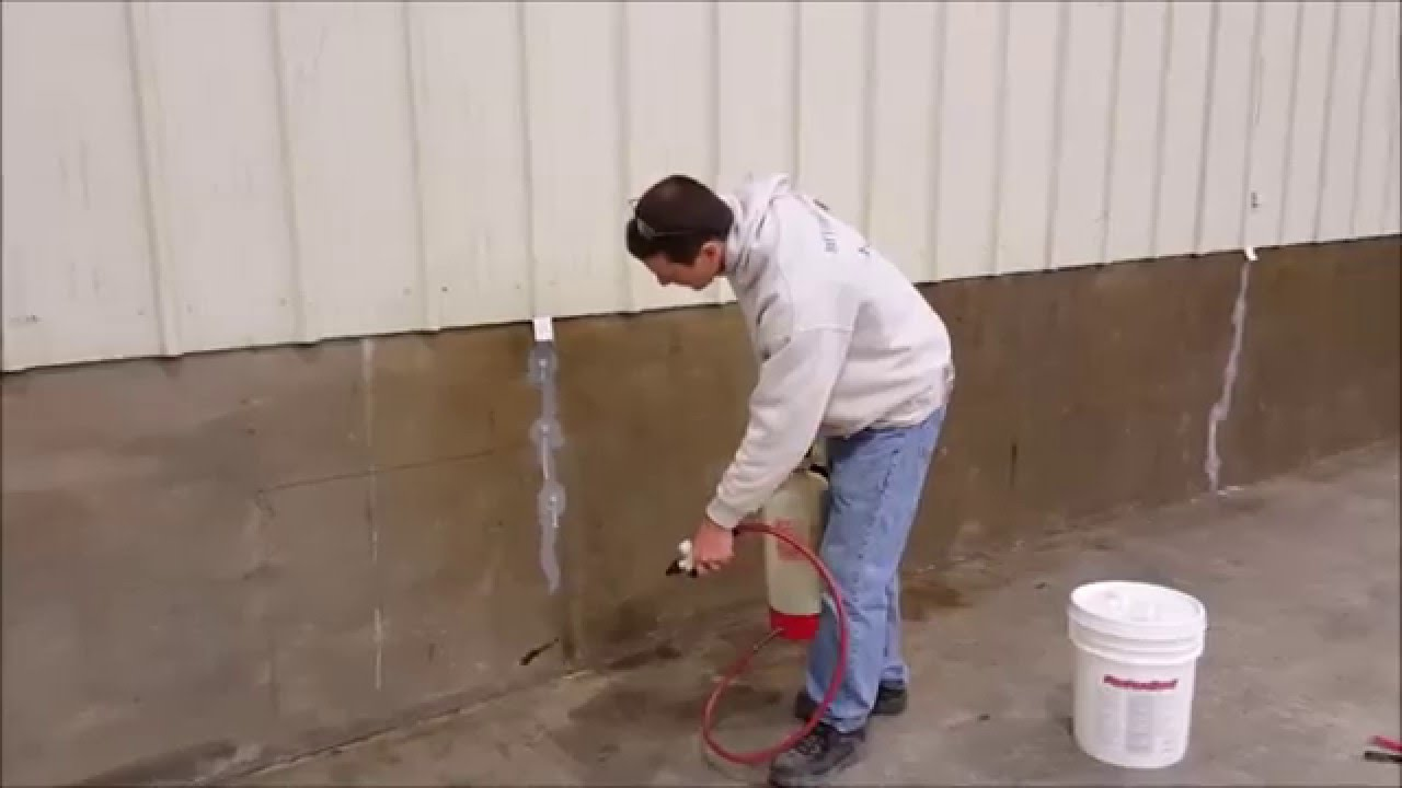 Seal cinder block walls basement tcworks org - Sealing exterior cinder block walls ...