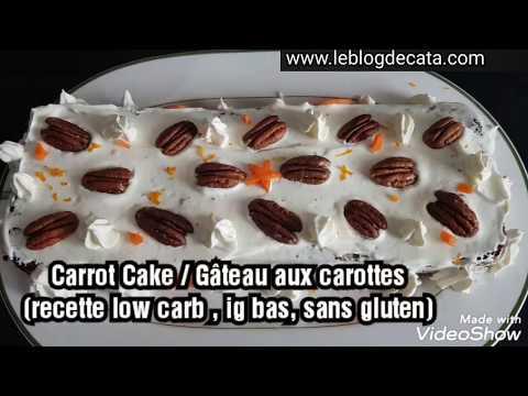carrot-cake-/-gâteau-aux-carottes-(recette-low-carb-,-ig-bas,-sans-gluten,-keto)