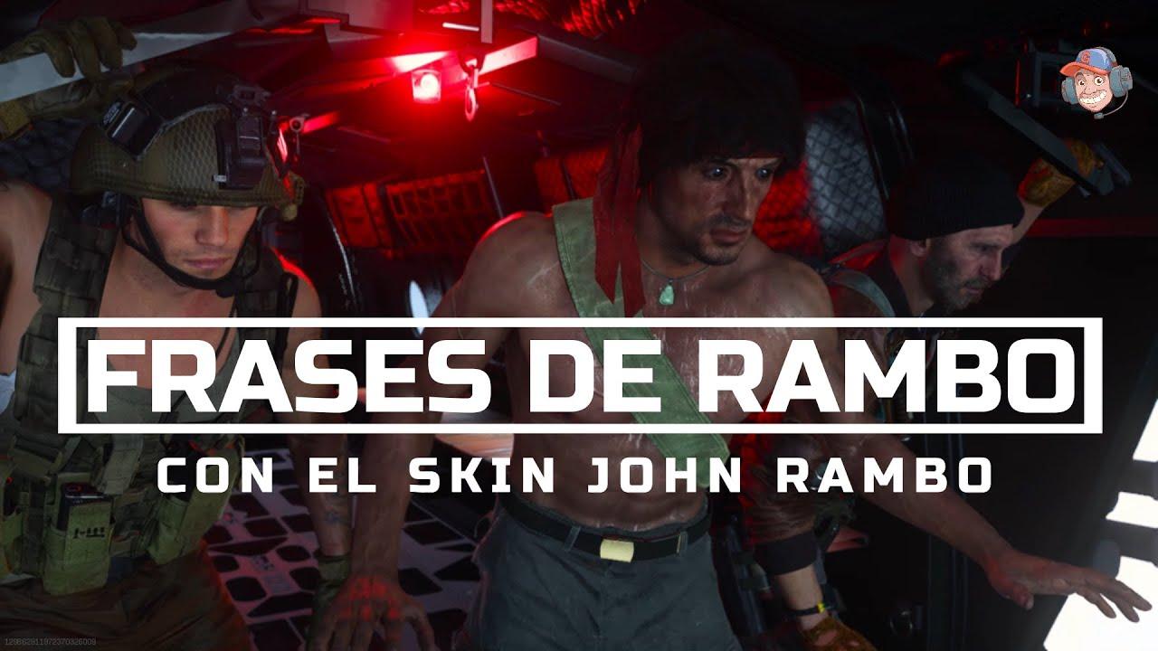 Frases de Rambo en Call of Duty Black Ops: Cold War & Warzone - Audio Latino