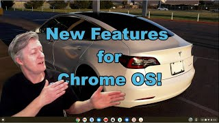 New Features in Chrome OS and the Apps I Use - Flixier, Microsoft Word, and more.