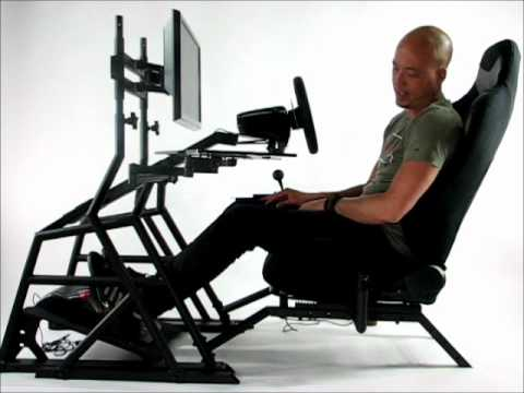 The Obutto r3volution driving position - for work, gaming, or
