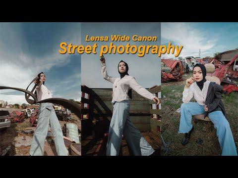 Belajar Foto Street Photography Dengan Lensa Wide Canon