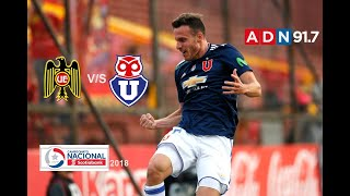 Unión Española 1 Universidad De Chile 4 - Campeonato Scotiabank 2018 - ADN Radio Chile 91.7