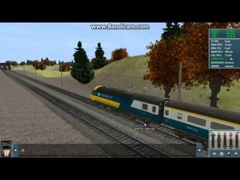 Class 43 HST in Inter City and FGW livery in Trainz 12