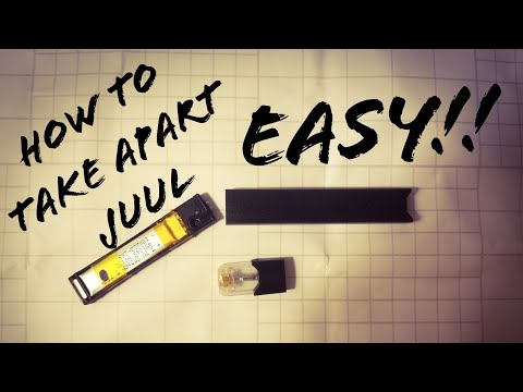 How to take apart juul (Easy)